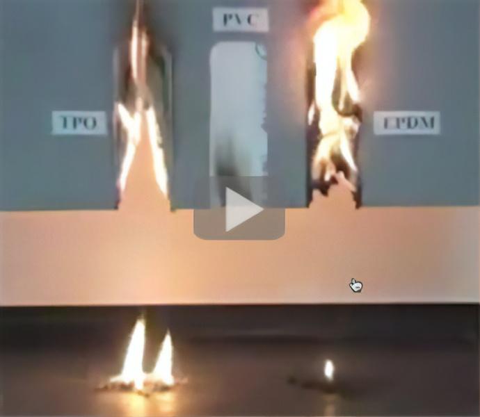 PVC Burn Test